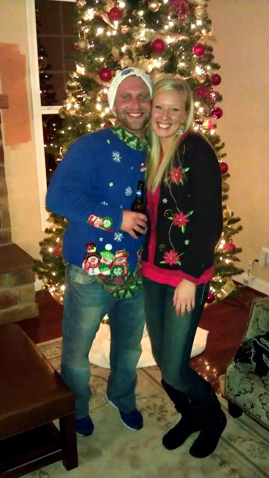 ugly xmas sweater party 2012