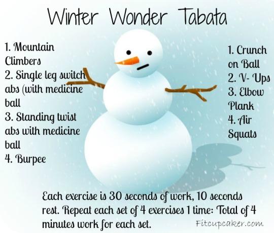 Winter Tabata