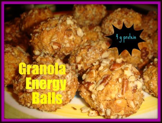granola energy ball