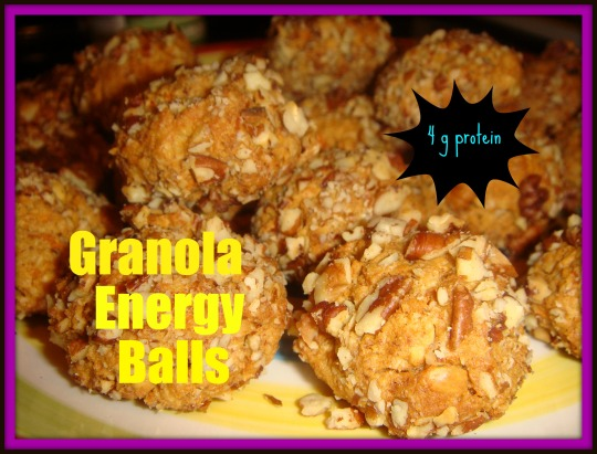 granola energy ball