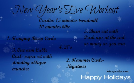 NYE workout