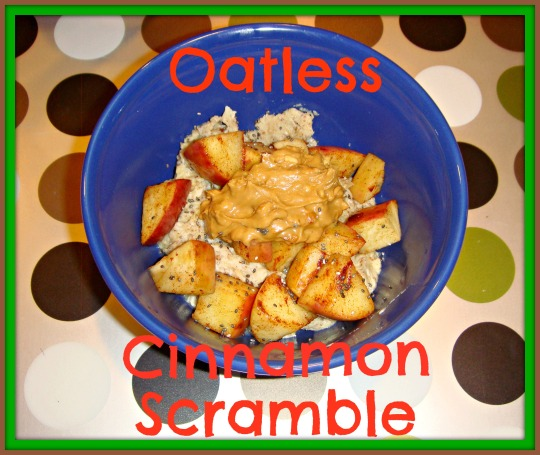 oatless cinnamon scramble