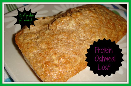 protein oatmeal loaf 1