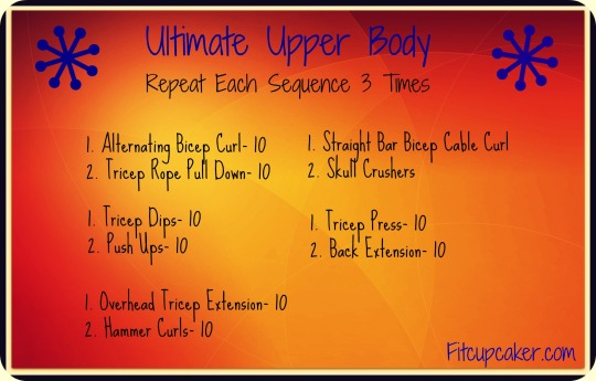 ultimate upper body