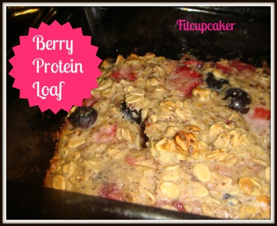berry protein loaf 1