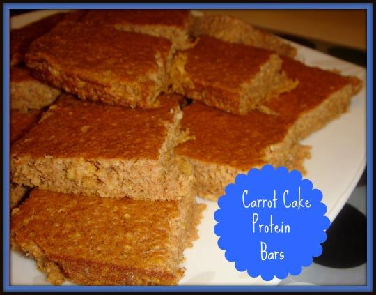 carrot cake prot bars 1