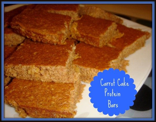carrot cake prot bars 1