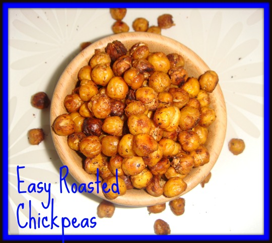 easy roasted chickpeas