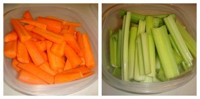Food Prep collage