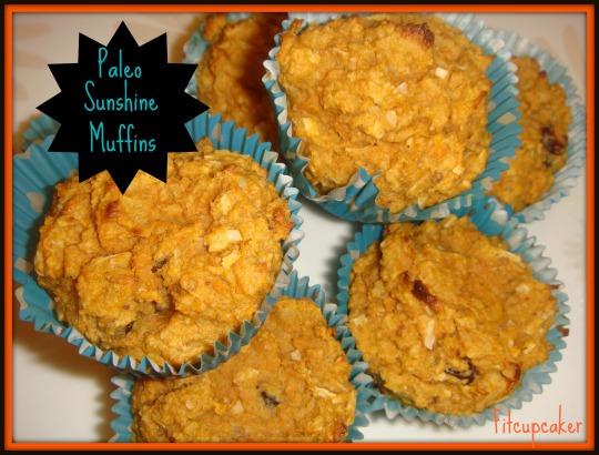 paleo sunshine muffins