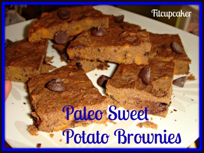paleo sweet potato brownies 1
