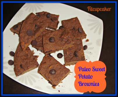 paleo sweet potato brownies 2