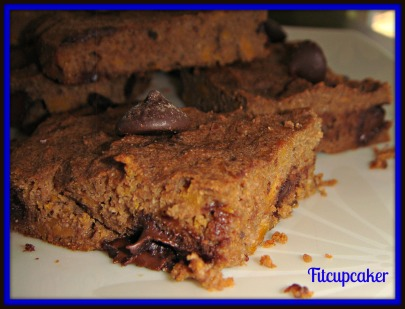 paleo sweet potato brownies 3