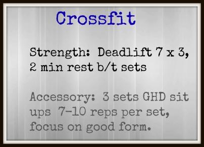 DL CRossfit