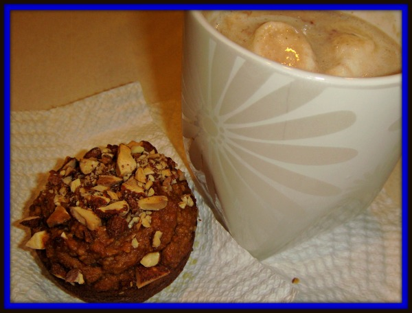 hot choc with muffin