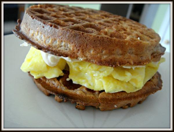 waffle sammich