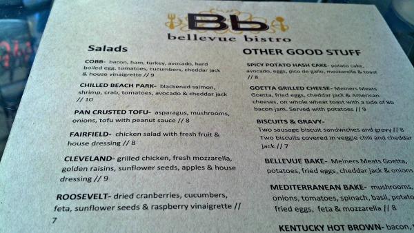 bb menu