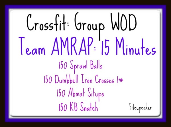 Group WOD Fri 2