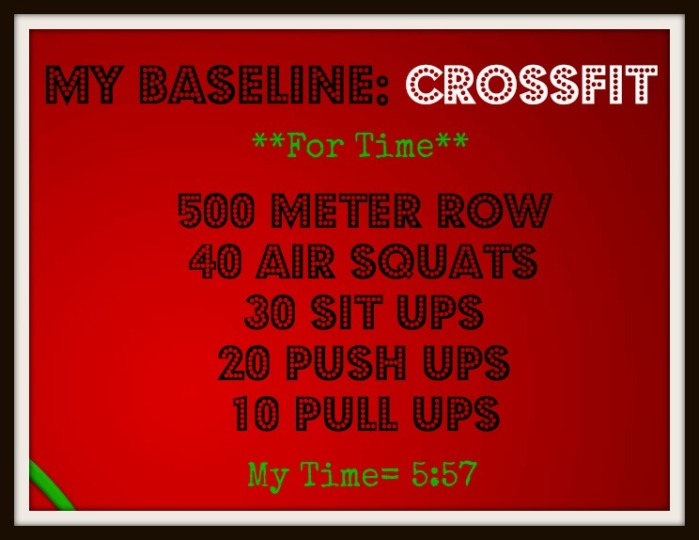 my baseline crossfit