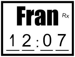 my first fran